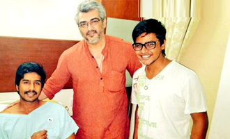 Ajith visits Vishnu who has been hospitalized