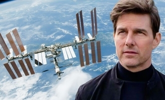 Tom Cruise and NASA team up for movie in outer space!