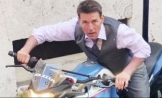 Tom Cruise rides a massive made in India bike for 'Mission Impossible 7'