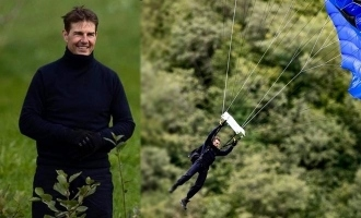 Tom cruise performs unbelievably dangerous stunt for Mission impossible 7, video viral!