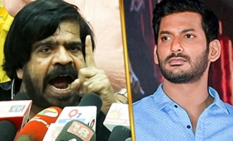 Are you a big Detective ? T Rajendhar slams Vishal