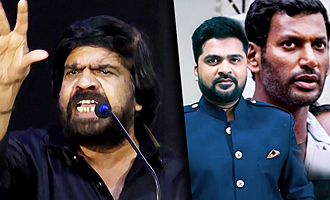 Simbu ku RED CARD ah?? : TR Angry Speech against Vishal & Gnanavel Raja