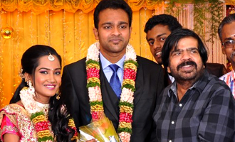 Producer TR Selvam Daughter Kiruthika Wedding Photos