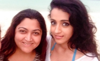 You haven't changed a bit - Khushbu praises Trisha!