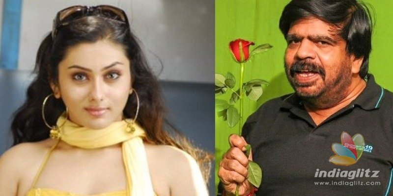 Whoa! T. Rajendhar and Namitha to play lovers?