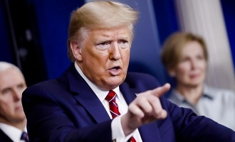 Donald Trump sharp corona questions to WHO