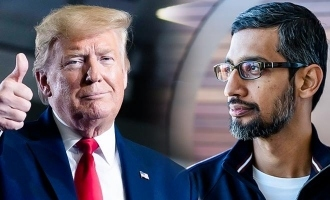 Google CEO Sundar Pichai disappointed by trump