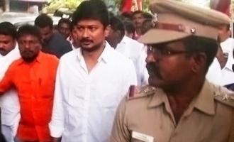 Police arrested Udhayanithi stalin