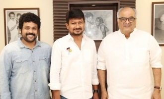 'Valimai' producer Boney Kapoor's sudden meeting with Udhayanidhi Stalin MLA