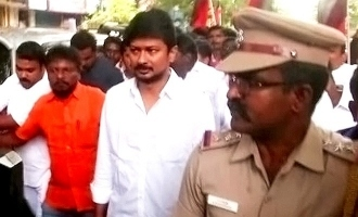 Udhayanidhi Stalin detained after protest