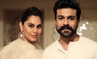 Ram Charan's wife shares a picture from their romantic lunch date!