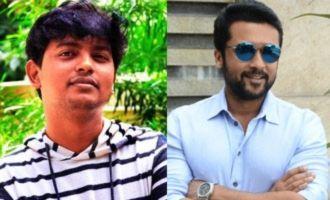 Suriya and 'Uriyadi' Vijayakumar join hands