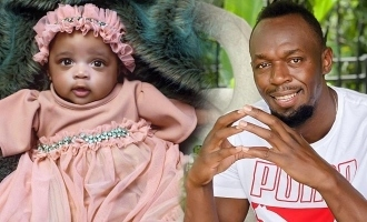 Usain Bolt shares cute photos of his daughter first time and reveals her name!