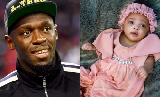 Usain Bolt welcomes twins with girlfriend; Shares picture and reveals their names