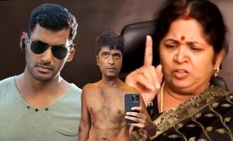 """Simbu's Mother Usha Thrashes Vishal on """"Red Card"""" issue"""