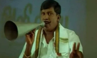 Vadivelu's first important video message to fans after comeback to social media