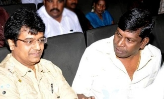 Vadivelu tearfully mourns the death of his close buddy and rival Vivek