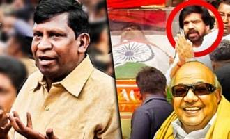 Tamil has left us and went: Vadivelu deep condolence at Kalaignar Karunanidhi Demise