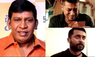 Suriya made Vadivelu cry many times