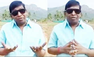 Vadivelu video message to fans HBD Vadivelu