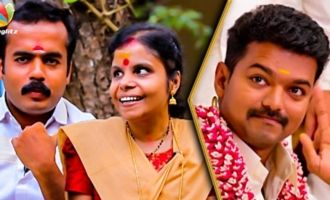 Singing in Theri Was a Blessing For Us : Vaikom Vijayalakshmi & Husband Interview