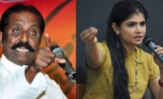 If Vairamuthu's demand was implemented 20 years ago I could have escaped - Chinmayi