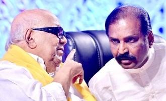 vairamuthu wishes to kalingnar Karunanithi