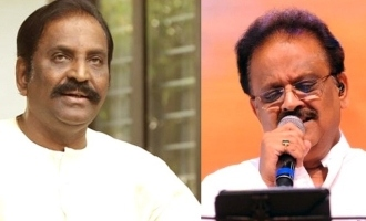 Vairamuthu's emotional poem for SPB's corona recovery!