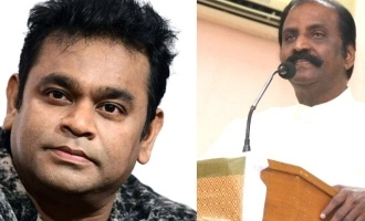 Vairamuthu tweet about AR Rahman and bollywood cinema