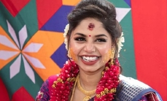 Actress Vaishnavi Rajasekharan gets engaged to her lover