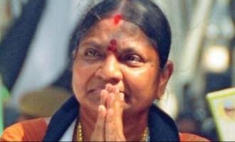 Breaking! Former ADMK MLA  B. Valarmathi tests positive for COVID 19