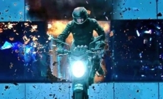 Glimpses of 'Valimai'  teaser - Thala Ajith's mass in volcanic eruption mode