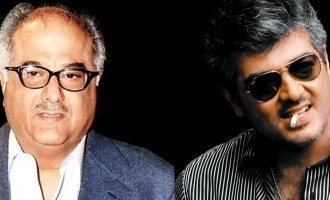 Boney Kapoor finally opens up about 'Valimai' update after Thala Ajith fans persistant demands