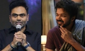 Vamshi Paidipally opens up about directing Vijay in 'Thalapathy 66'
