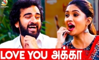Anniyan Ambi style love proposal -  Vani Bhojan - Ashok Selvan interview