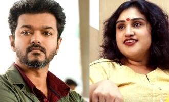 'பிக்பாஸ்' வனிதா உடைமாற்ற விஜய் செய்த உதவி!