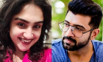 Vanitha Vijayakumar's emotional message to brother Arun Vijay