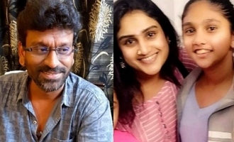 vanitha daughter support her mother marriage