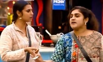 Biggboss Tamil season 3 Vanitha Kasthuri clash