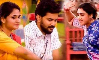 Biggboss Tamil season 3 Vanitha involvement in village task