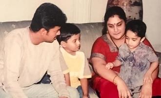 எஸ்பிபி பாடலை பாடச் சொல்லி விஜய்யை நச்சரித்த வனிதா!