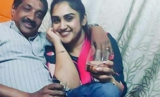 Vanitha Vijayakumar's photo with elderly man goes viral