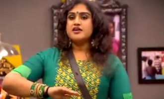 Vanitha in 'Bigg Boss 3' again starts controversy between Tharshan-Sherin