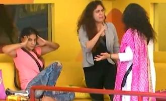 Bigg Boss 3 Vanitha accuses Sherin of having an affair!