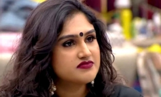 Vanitha shares slippershot video for haters