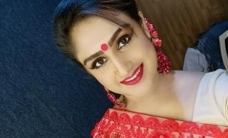 Actress Vanitha fall in love again