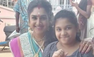 Vanitha Vijayakumar's daughter Jovika's reaction to her marriage annoucement