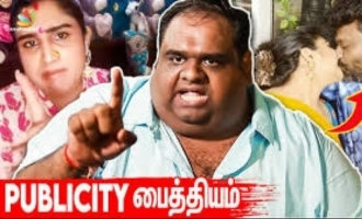 Publicity mad Vanitha should apologize to me - Producer Ravindar rebound interview