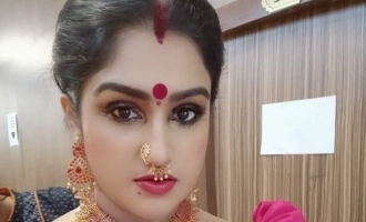 Vanitha Vijayakumar posts intimate pic of Nanjil Vijayan and Surya Devi