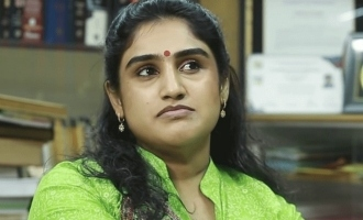 Vanitha Vijayakumar says sorry and asks for forgiveness